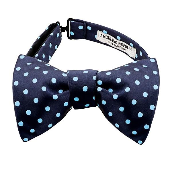 Polka Dot Bow Tie Tying