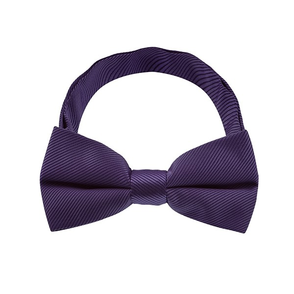 Purple Stripe Pattern 1 Bow Tie